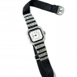 Deco Diamond set Cocktail watches