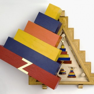 Ziggurat by Joe Tilson
