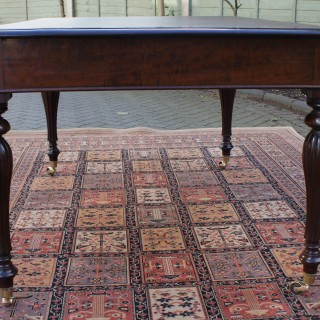 Antique Georgian Mahogany Partners Library Table / Desk