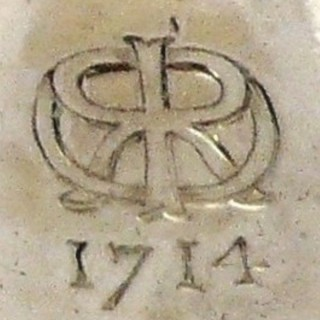 Antique George I Silver Tapersticks
