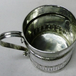Antique Queen Anne Silver Mug