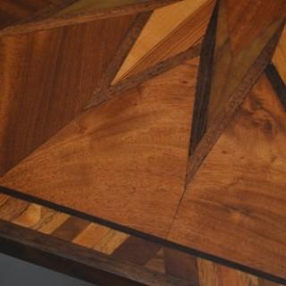 Victorian Specimen Wood Table