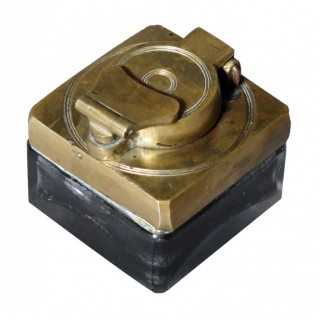 Small Travel Inkwell
