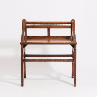 Hall Bench In The Manner Of Shoolbred