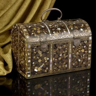 Antique Japanese Namban Casket Late 16th Century