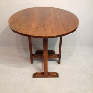 French provincial  fruitwood tavern table.