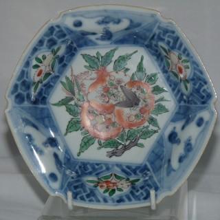 Chinese Transitional Ko-sometsuke dish