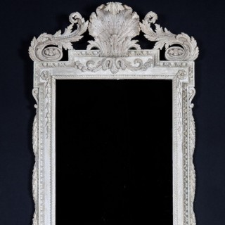William Kent ( 1684 -1748 ) White Painted Mirror