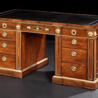 Pair of Pedestal Desks in the Regency Manner