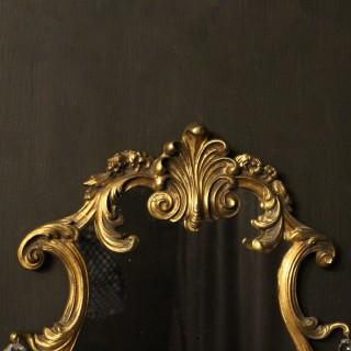 An Italian Pair Of Bronze Antique Girandoles