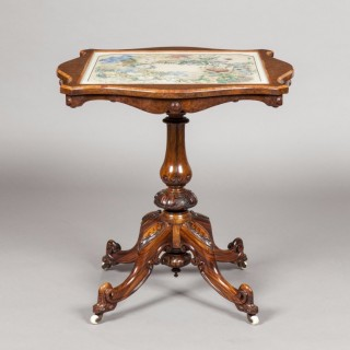 An Antique Victorian Centre Table