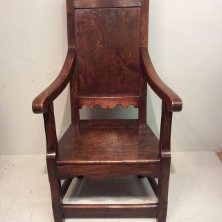 Elm country armchair
