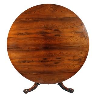 Victorian Rosewood Breakfast Table