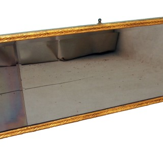 Antique Queen Anne Gilt Overmantle Mirror