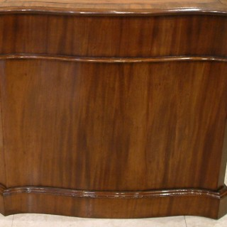 An Antique Library Desk in the George III Style