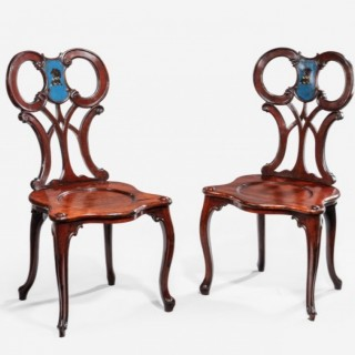 THE BROWNSLOW HALL CHAIRS