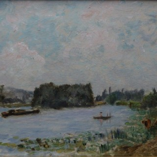 On the Seine near Rouen