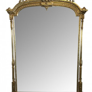 Large 19th c. Adam Style Mirror