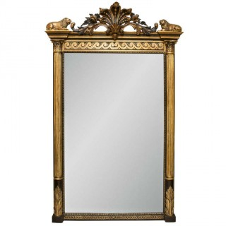 Irish Regency Pier Mirror Provenance Sir Sean Connery