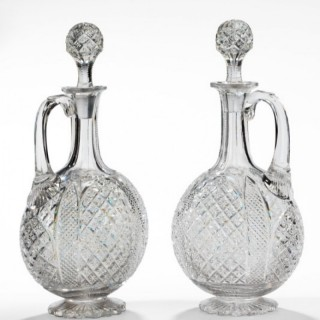 Fine pair of Decanters