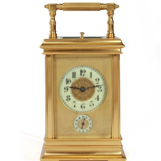 Petite Sonnerie Quarter striking Carriage clock
