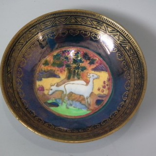 Wedgwood Fairyland lustre Nizami pin tray