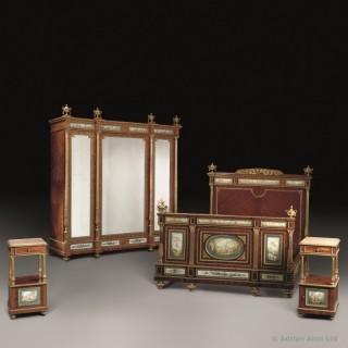 An Important Napoleon III Bedroom Suite