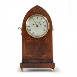 Fusee Striking Regency Bracket Clock
