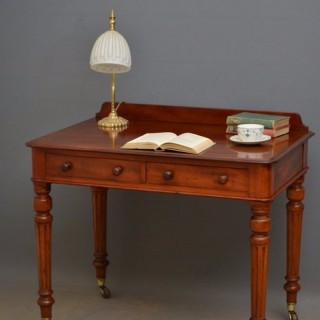 Fine Victorian 3ft Mahogany Writing Table