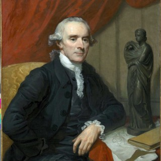 Mather Brown ( 1761-1831) - A portrait of Nathaniel Chauncey (1717-1790)