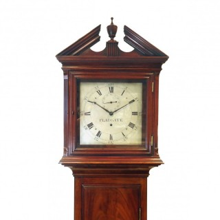 Domestic Regulator Longcase Clock by Fladgate