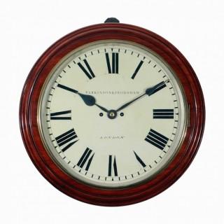 Parkinson & Frodsham large Striking Dial Clock