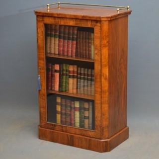 Victorian Walnut Bookcase / Cabinet
