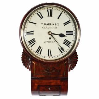 Regency Fusee Wall Clock