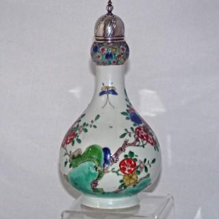 kangxi famille Verte Bottle Vase