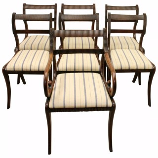Set of 7 Dining Chairs by William Trotter