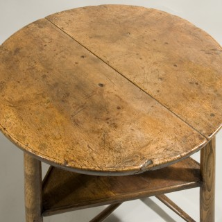 An 18th Century Sycamore and Ash Dairy / Cheese Table