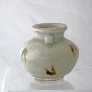 Yuan red and White Small jar