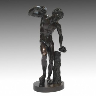 The Uffizi Dancing Faun Cast by Duchemin
