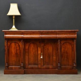 An Elegant Victorian Mahogany Sideboard