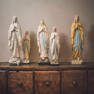 Plaster Madonnas