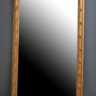 Large XIX Century Gilt Mirror - Floor Standing