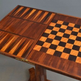 William IV Games Table / Occasional Table