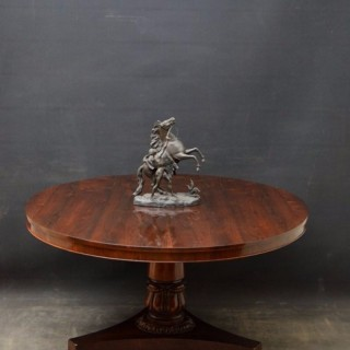 An Elegant William IV Rosewood Centre Table