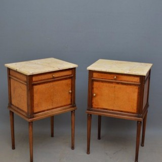 Stylish Pair of Bedside Cabinets
