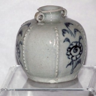 Yuan Blue and White Round Jar