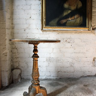 An Attractive Early Victorian Giltwood Occasional Table, in the Manner of Gillows c.1845