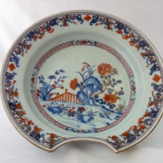 Chinese Imari Barbers bowl