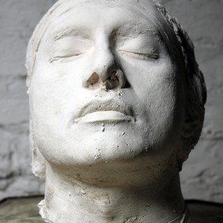A Good Mid-20thC Plaster Death Mask of a Young Gentleman