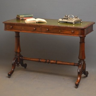 Stylish Victorian Rosewood Library Table